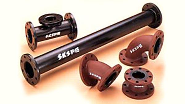 SKS-PE ポリエチレンライニング鋼管